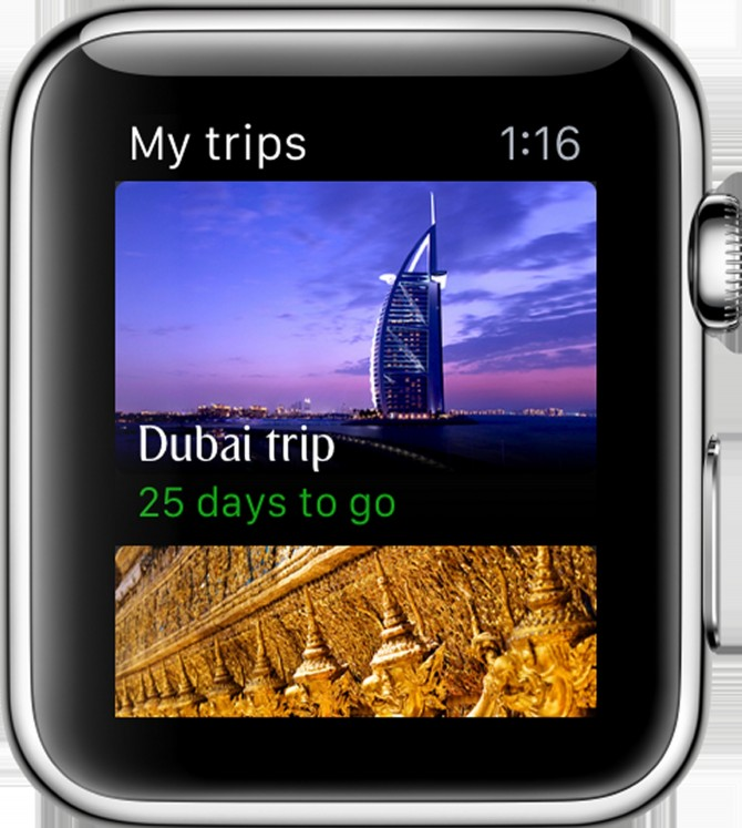 Emirates lanceert app voor Apple Watch