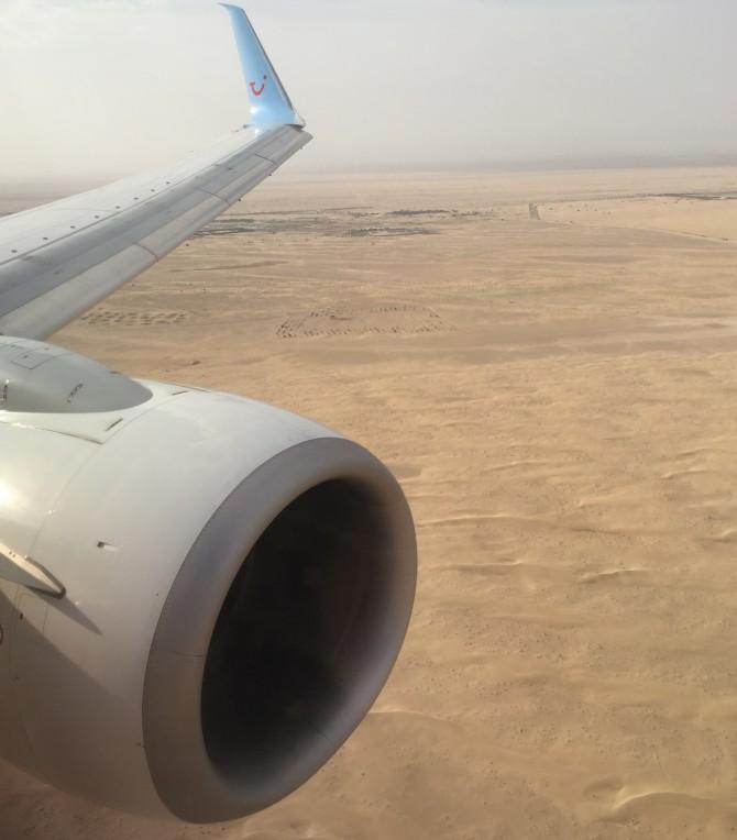 Met Arke naar Dubai vliegen