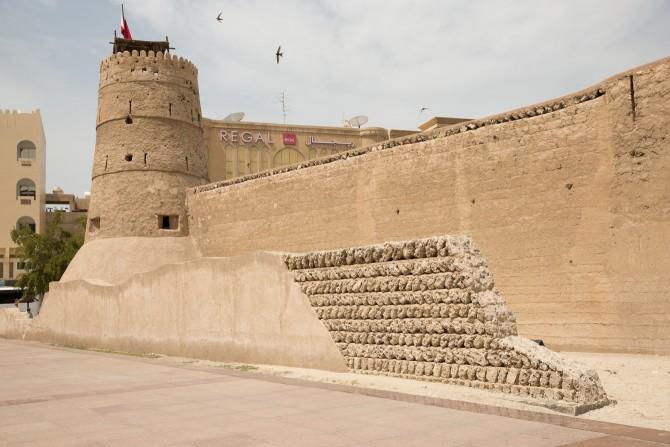 Stadsmuren van Dubai
