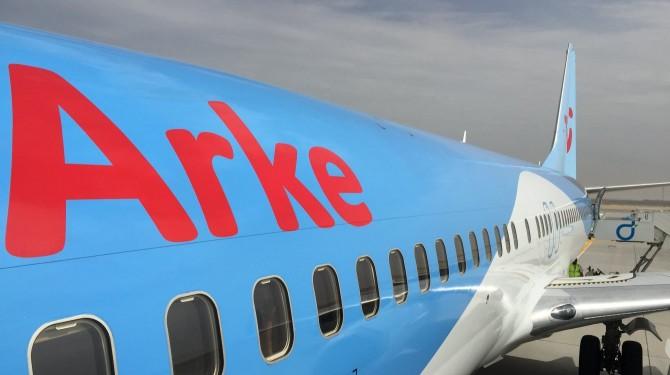 Vliegtickets Arke