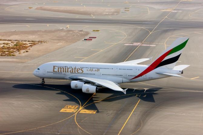 Emirates wil tweede A-380 vlucht vanaf Schiphol