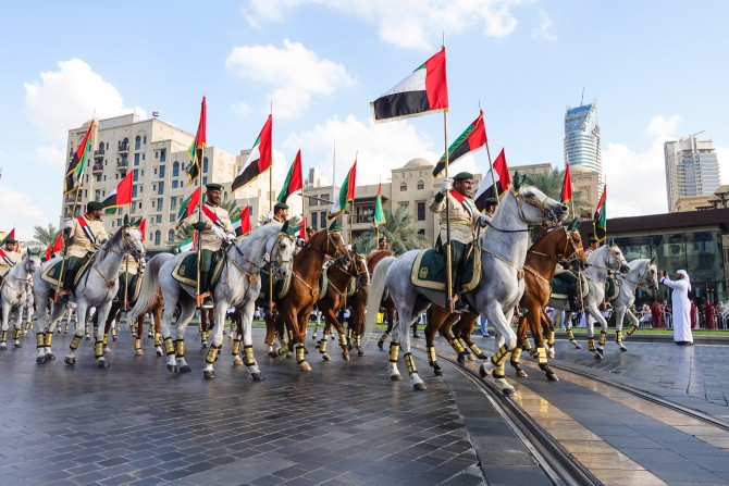 Downtown Dubai Parade