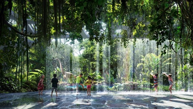 Hotel met regenwoud opent in 2018