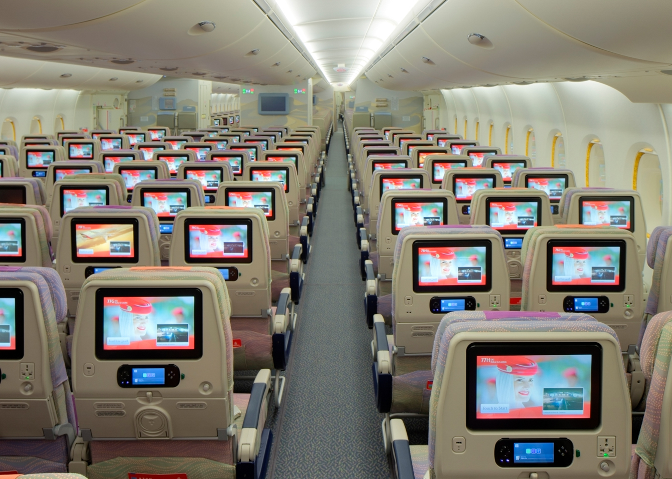 Voortaan betalen voor stoelreservering emirates for Interieur avion easyjet