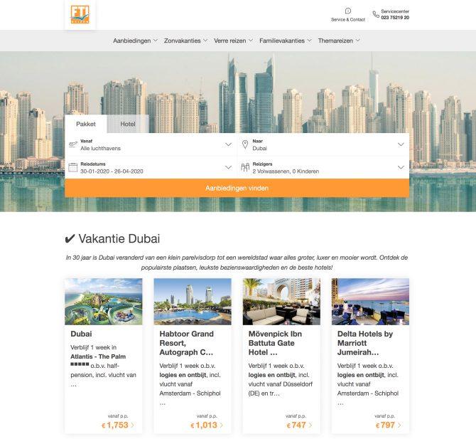 Met FTI Reizen naar Dubai